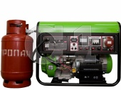 Газовый генератор Green Power CC6000-NG/LPG-3 (5.2 кВт)
